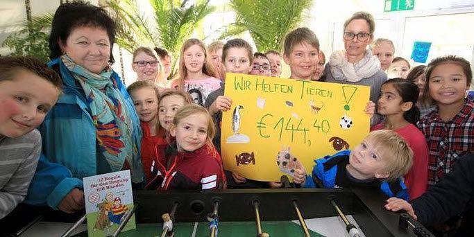 """Leser helfen"""" spendet 16000 Euro für den Tierschutz in Bingen"""