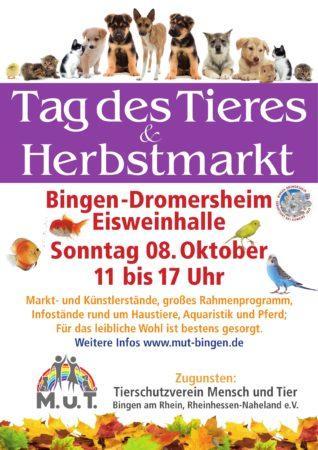 08.10.2017 Tag des Tieres & Herbstmarkt Dromersheim