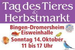 Tag des Tieres und Herbstmarkt 2018